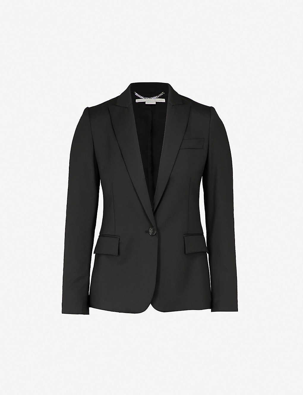 Stella Mccartney Coats Ingrid single-breasted wool jacket
