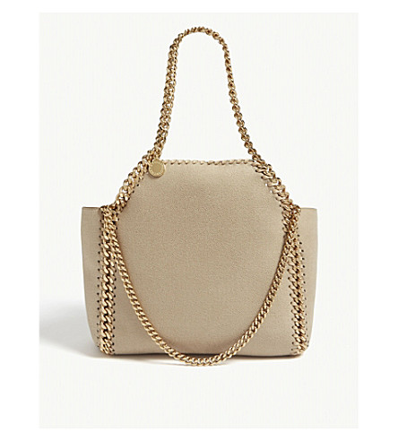 ... STELLA MCCARTNEY Falabella reversible faux-suede mini tote  (Clotted+cream. PreviousNext fd882d230963c