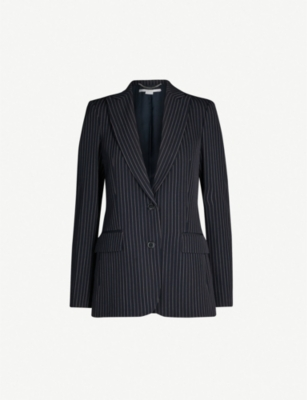 STELLA MCCARTNEY Pinstriped wool blazer