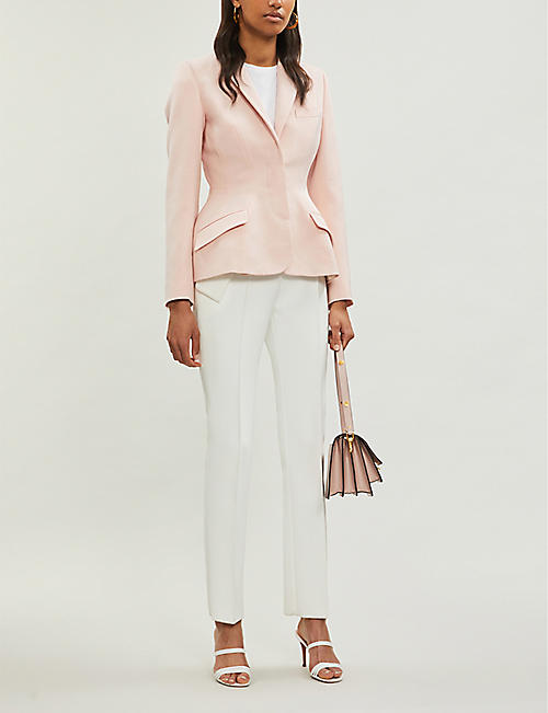 STELLA MCCARTNEY Peplum tailored wool jacket