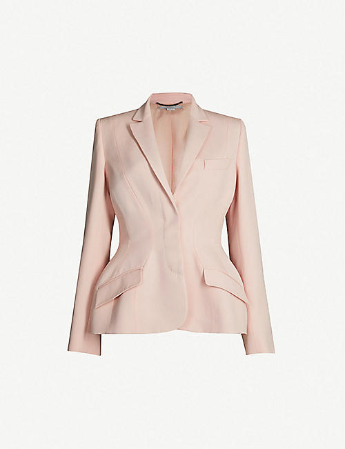 4406cfa82a47 STELLA MCCARTNEY Peplum tailored wool jacket