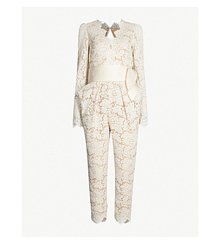 818d38a1c9b8 STELLA MCCARTNEY - Pearl tapered lace jumpsuit