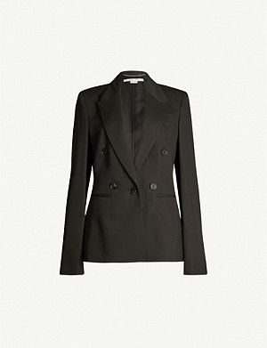 STELLA MCCARTNEY Peak-lapel wool blazer