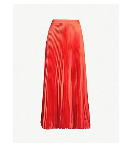 Stella Mccartney Skirts Pleated crepe midi skirt