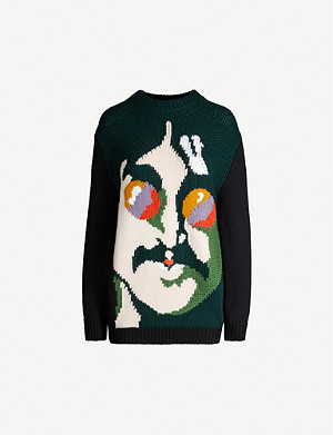 STELLA MCCARTNEY Stella McCartney x The Beatles John Lennon wool jumper