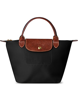 LONGCHAMP: Le Pliage small top handle bag