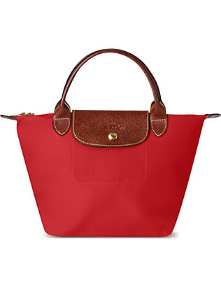 LONGCHAMP: Le Pliage small top-handle bag