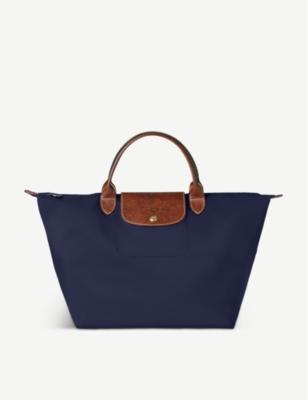 cute greatvarieties hot-selling LONGCHAMP Le Pliage medium handbag in navy