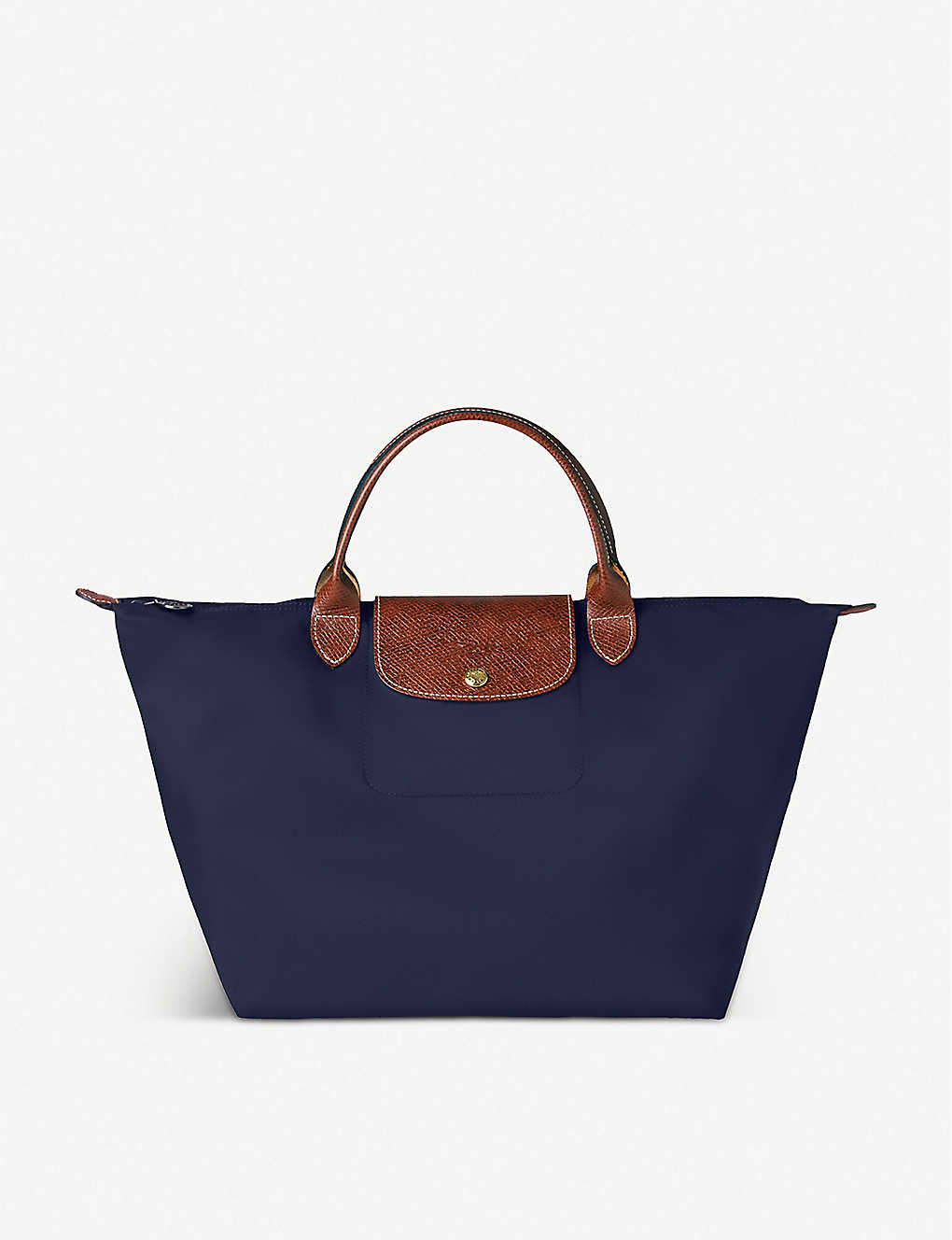 LONGCHAMP: Le Pliage medium top-handle bag