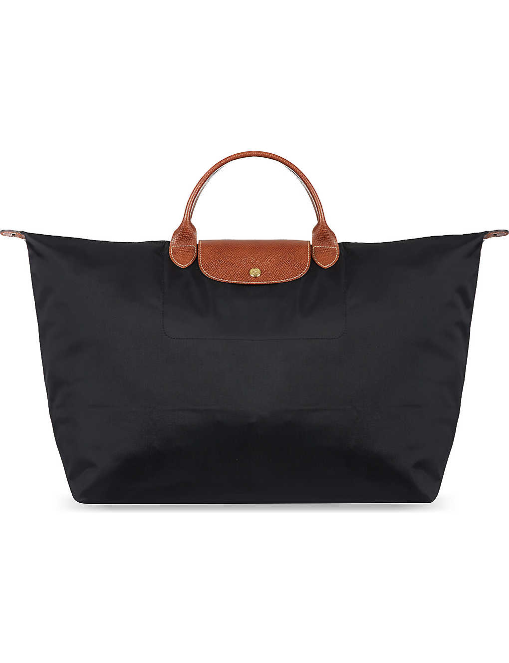 1708321d8b LONGCHAMP - Le Pliage medium travel bag in black | Selfridges.com