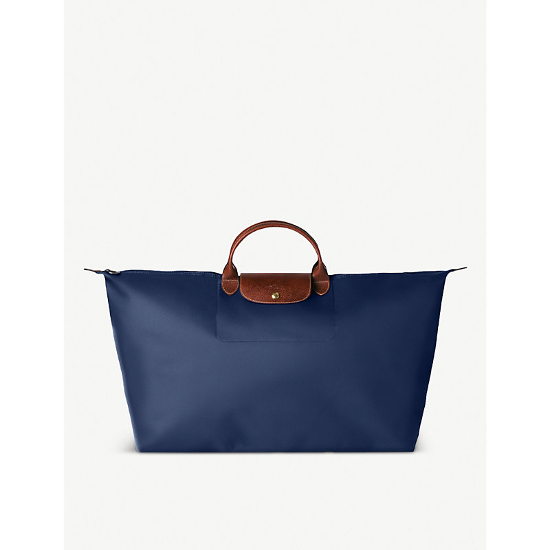 LONGCHAMP | Longchamp Le Pliage Large Travel Bag In Navy, Women'S, Size: Large, Navy | Goxip