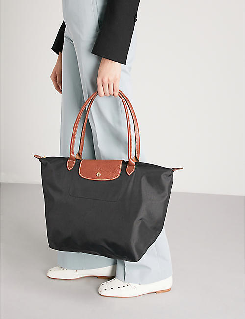 LONGCHAMP Le Pliage large nylon shopper bag