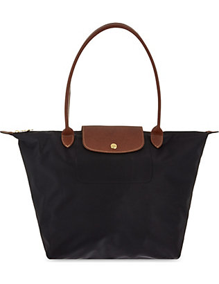 LONGCHAMP: Le Pliage large nylon shopper bag