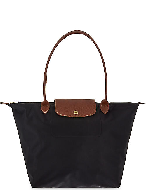02dd2faf10 LONGCHAMP Le Pliage large shopper bag