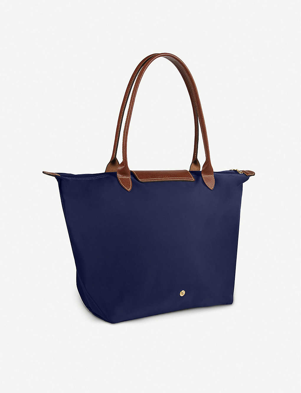 84ad4fb299024 ... Le Pliage large shopper in navy - Navy ...