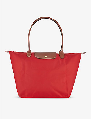 LONGCHAMP: Le Pliage Club large tote bag