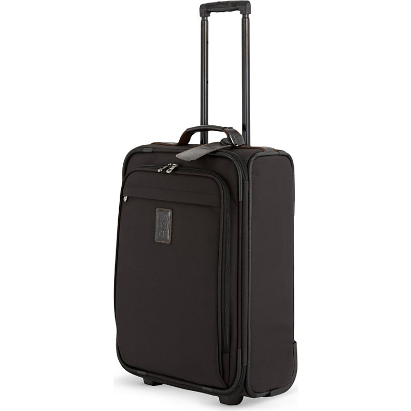 LONGCHAMP | Longchamp Boxford Two-Wheel Suitcase, Noir | Goxip