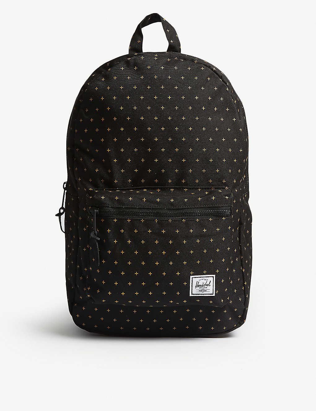 c8334dd618 HERSCHEL SUPPLY CO - Settlement cross-print canvas backpack ...