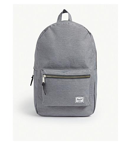 e920b8494774 HERSCHEL SUPPLY CO Settlement backpack (Mid+grey+crosshatch