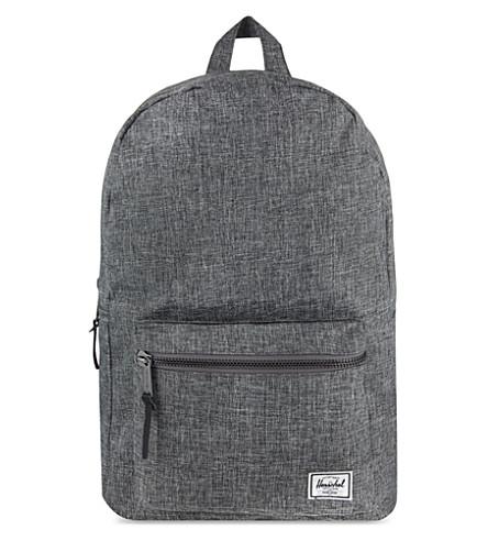 48bece9b74 ... HERSCHEL SUPPLY CO Settlement backpack (Raven+crosshatch. PreviousNext