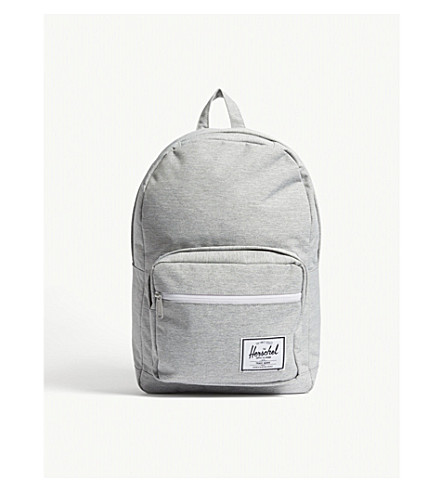 c86a356da63c HERSCHEL SUPPLY CO Pop Quiz backpack (Light+grey+crosshatch