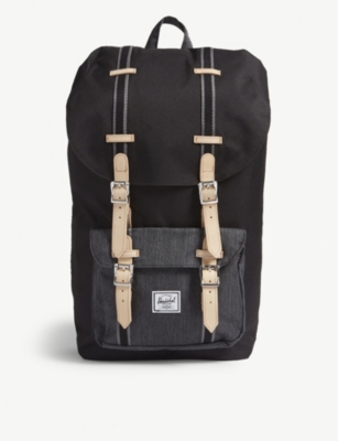 HERSCHEL SUPPLY CO Little America buckled canvas backpack