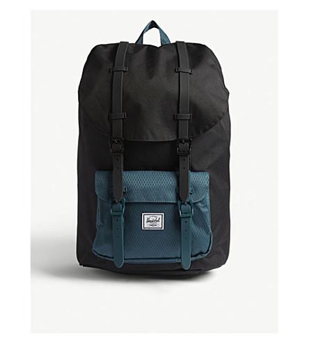 b1fe9fb74719 HERSCHEL SUPPLY CO Little America backpack (Black deep+teal