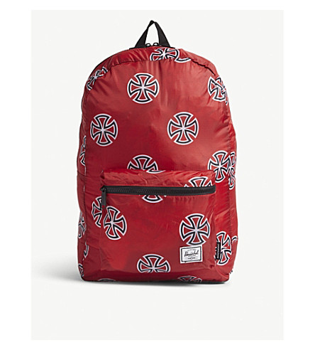 a7f578f0478 ... HERSCHEL SUPPLY CO Packable printed backpack (Red. PreviousNext