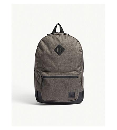 f570b761b8 HERSCHEL SUPPLY CO Ruskin backpack (Canteen+crosshatch black