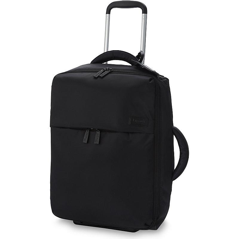 LIPAULT | Lipault 0% Pliable Two-Wheel Cabin Suitcase 55cm, Black | Goxip