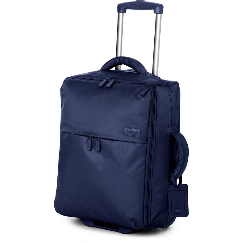 LIPAULT | Lipault Foldable Two-Wheel Cabin Suitcase 55cm, Navy | Goxip
