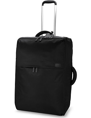 LIPAULT: 0% pliable two-wheel cabin suitcase 65cm