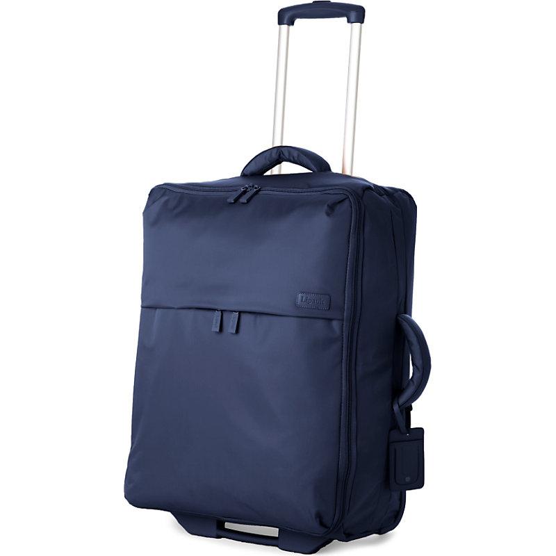 LIPAULT | Lipault Foldable Two-Wheel Suitcase 65cm, Navy | Goxip