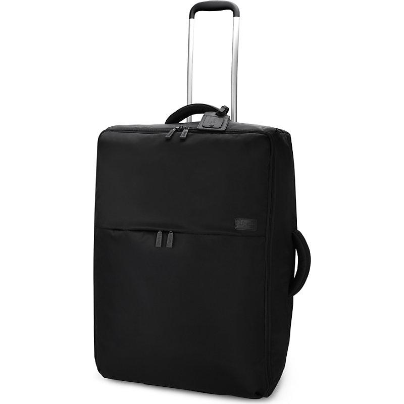LIPAULT | Lipault 0% Pliable Two-Wheel Suitcase 72cm, Black | Goxip