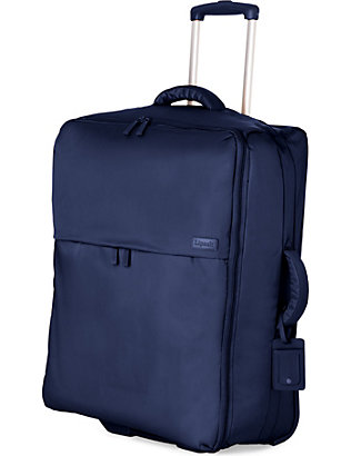 LIPAULT: Foldable two-wheel trolley suitcase 75cm