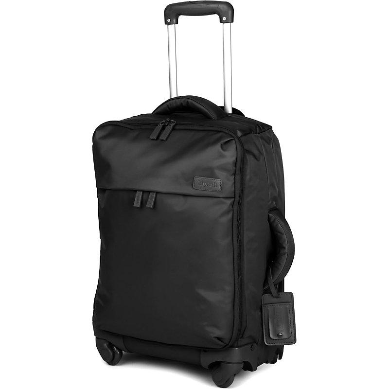 LIPAULT | Lipault Original Plume Four-Wheel Cabin Suitcase 55cm, Black | Goxip