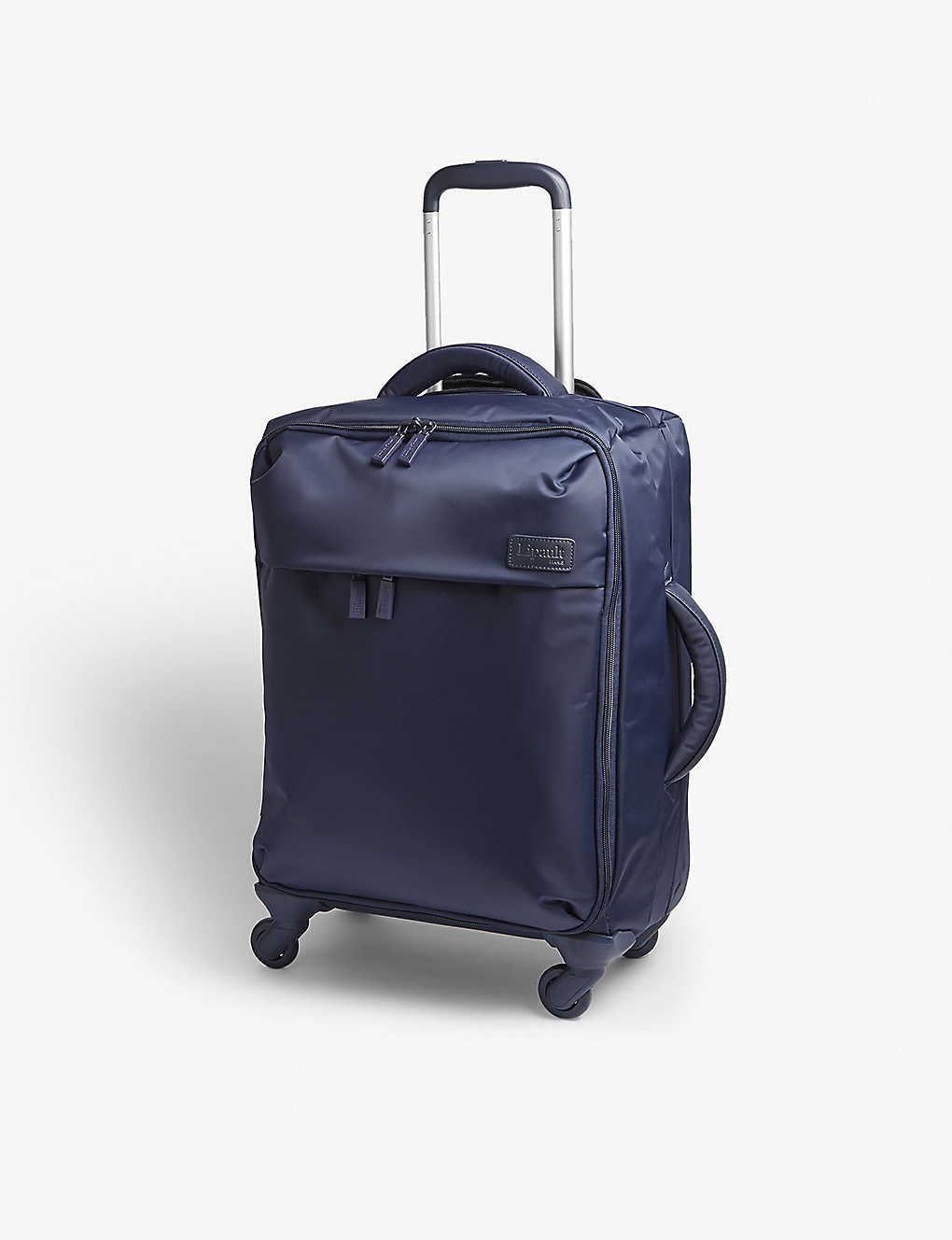 LIPAULT: Originale plume four-wheel cabin suitcase 55cm