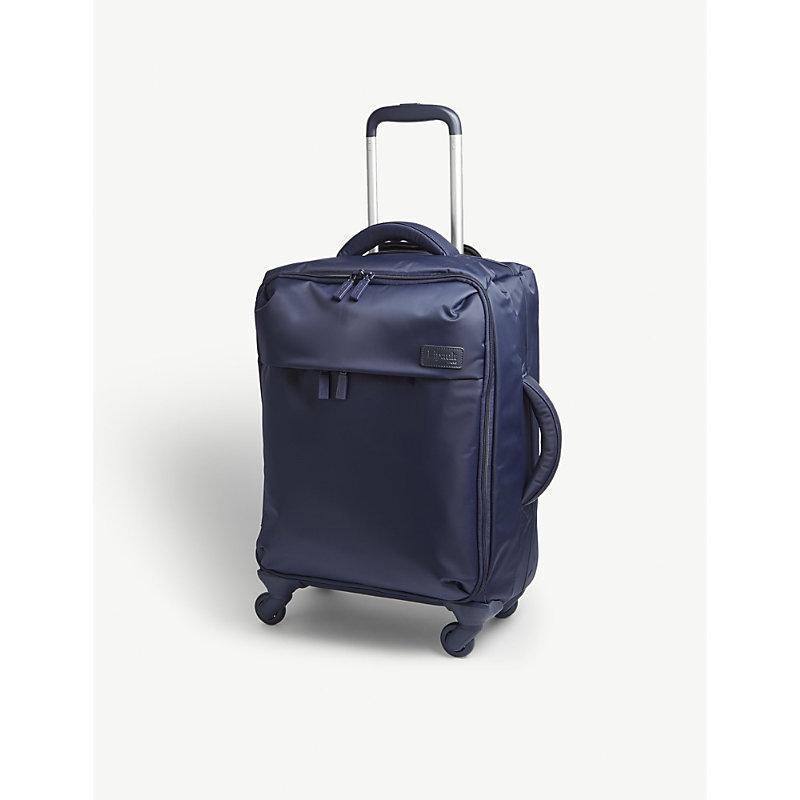 LIPAULT | Lipault Originale Plume Four-Wheel Cabin Suitcase 55cm, Navy | Goxip