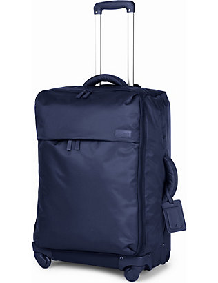 LIPAULT: Foldable four-wheel suitcase 65cm