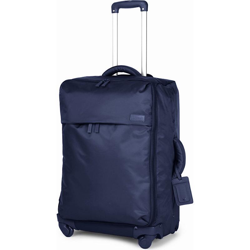 LIPAULT | Lipault Foldable Four-Wheel Suitcase 65cm, Navy | Goxip