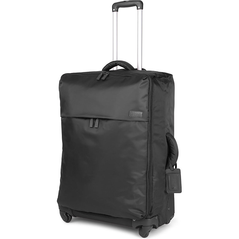 LIPAULT | Lipault Original Plume Four-Wheel Suitcase 72cm, Black | Goxip