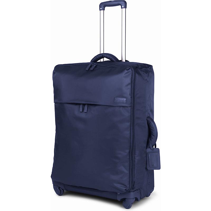LIPAULT | Lipault Originale Plume Luggage 4 Wheels 72cm, Navy | Goxip
