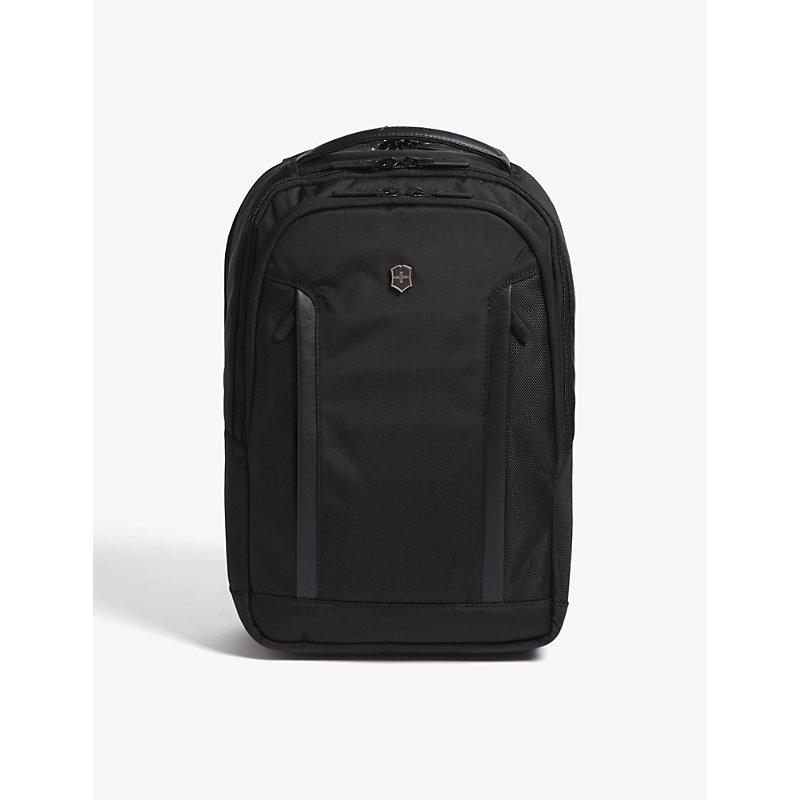 108506261 VICTORINOX | Victorinox Black Altmont Compact Backpack | Goxip