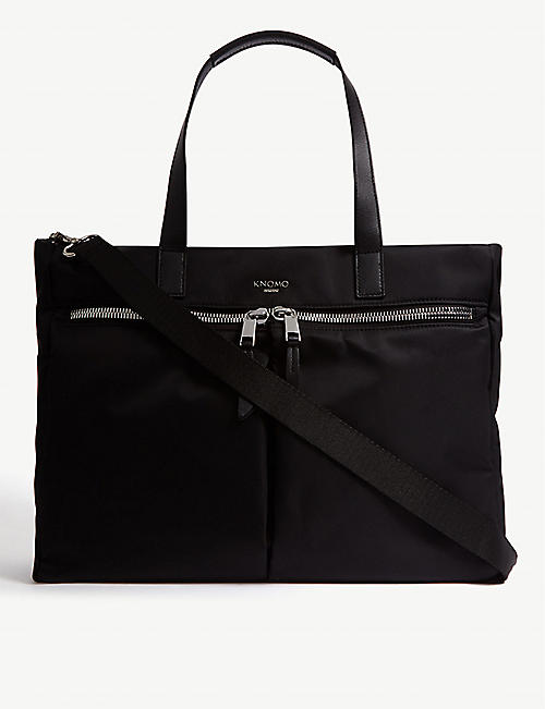 KNOMO: Mayfair Blenheim water-resistant 14'' laptop tote