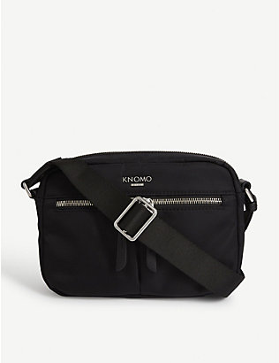 KNOMO: Avery nylon cross-body bag