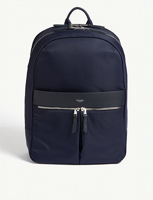 KNOMO Beaufort nylon laptop backpack