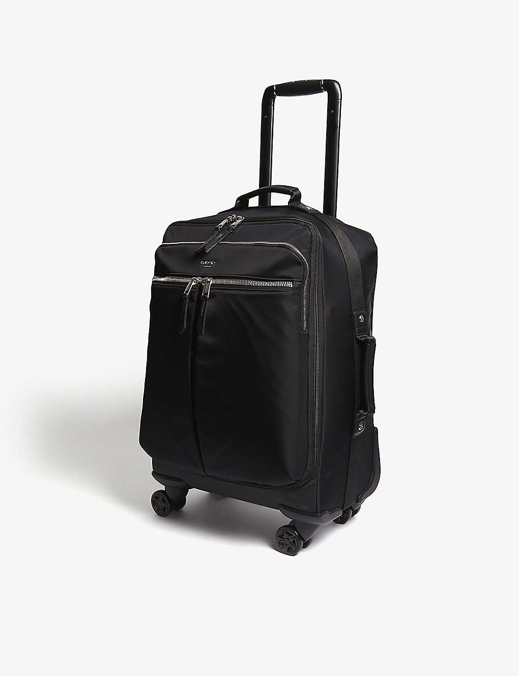 KNOMO: Park Lane four-wheel carry-on 55cm