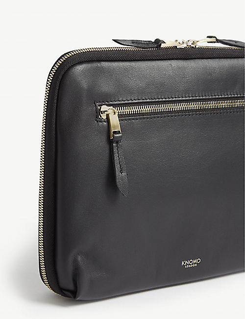 KNOMO Mayfair Luxe Knomad leather organiser