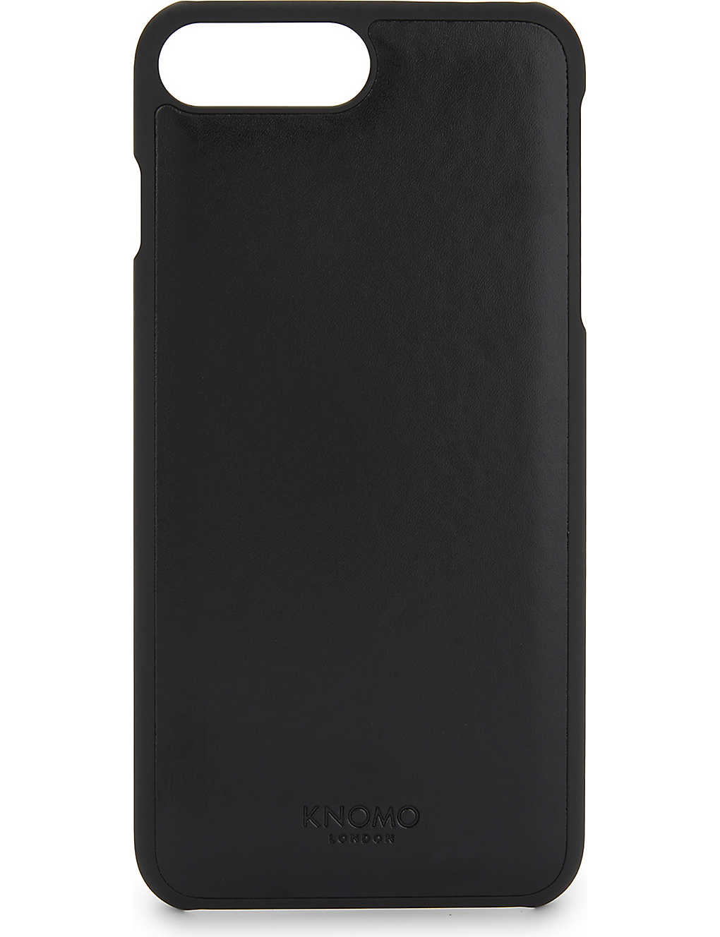 new product 8c6d8 d0d44 KNOMO - Leather panel iPhone 7 Plus case   Selfridges.com