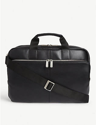 KNOMO: Amesbury leather briefcase